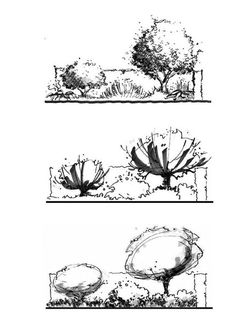 23 Best Ideas for landscape sketch design ideas Landscape Architecture Drawing, Landscape Sketch, Landscape Drawings, Abstract Landscape, Landscape Design, Landscape Architects, Architecture Sketches, Architecture Design, Tree Sketches