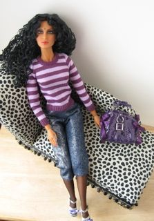 How To Sew Fashion Doll Clothes - tips for sewing small clothes.