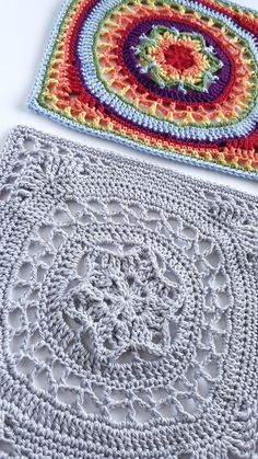 """12"""" square Syndey free crochet pattern by Shelley Husband 2016 8"""
