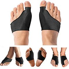 Copper Compression Bunion Corrector Relief Sleeve & Bunion Cushions for Women Men Guaranteed Highest Copper Bunion Pads Bootie Cushion Sleeves Relief Bunions Hallux Valgus Feet 1 Pair Bunion Relief, Foot Pain Relief, Bunion Pads, Gel Socks, Neck Headache, Hammer Toe, Feet Care, Workout Gear, Amazing Women