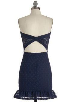 Navy In My Life Dress, #ModCloth