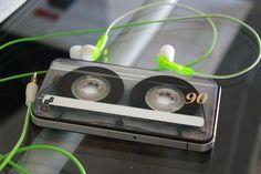 Funda para iPhone en forma de casette