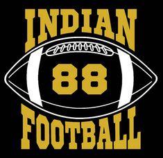 Indians Football Design Pattern Graphic Design Instant