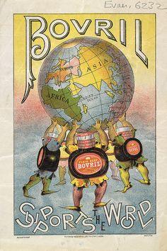 "Bovril ""fluid beef"" advertisement, c1890"