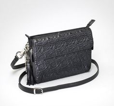 GTM 10 Embroidered Lambskin Clutch