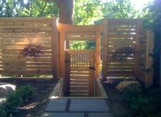 Brookside4 Special considerations for a horizontal fence.
