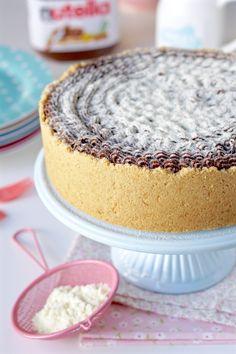 Torta trufada de leite ninho e nutella   Flamboesa