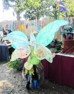 Fabulous Wings from the Renaissance Festival Fairy