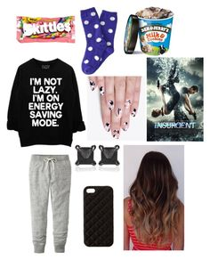 """Lazy movie night!"" by mfgsoccer ❤ liked on Polyvore featuring River Island, Uniqlo, P.S. from Aéropostale, The Case Factory, Eva Fehren, alfa.K, women's clothing, women's fashion, women and female"