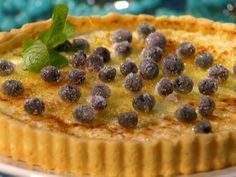 Blueberry Creme Brulee Tart from FoodNetwork.com.  You can actually use any kind of preserves...I think I will use either cherry or strawberry.
