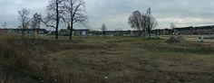 2013 12 09 Locatie van het aanstaande Weverslabyrint vanaf het hoogste punt van de zittribune van het openluchttheater.