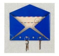 Porta-Chaves e Cartas - Carta Azul                                                                                                                                                      Mais