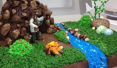 Caveman/man-cave cake!