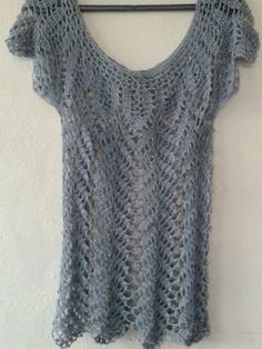 Blusa en gris