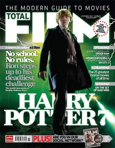 Rupert Grint on the cover of Total Film. I think I need to subscribe to this :)
