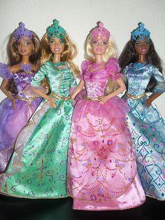 Barbie in the Three Musketeers Dolls
