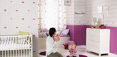Fantasyroom | Babyzimmer und Kinderzimmer in Lila/Flieder einrichten und gestalten: Kinderzimmerideen