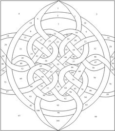quadruple celtic knot