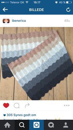 Inspiration til tæppe fra @ibenerica ..