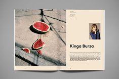 Nourished Journal is het nieuwe tijdschrift van Made Publishers waarin de… Graphic Design Agency, Graphic Design Layouts, Book Design Layout, Print Layout, Graphic Design Typography, Design Posters, Gfx Design, Design Art, Cover Design