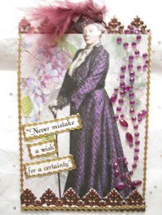 Downton Abbey ATC: Lady Violet