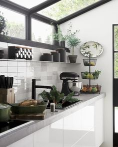 "15.1 mil Me gusta, 106 comentarios - Crate and Barrel (@crateandbarrel) en Instagram: ""#KitchenGoals --> This way."" Dirty Kitchen Design, Outdoor Kitchen Design, Interior Design Kitchen, Kitchen Decor, Nice Kitchen, Dirty Kitchen Ideas, Interior Livingroom, Kitchen Layout, House Extension Design"