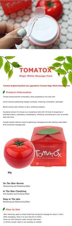 Tonymoly Fruits 5set[Green & Red apple tox + Tomatox + Banana hand cream & Sleeping pack] - Tonymoly Beautynetkorea Korean cosmetic