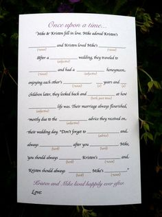 Hand these out at a wedding reception then collect them and pick the best ones for a great ending to a wonderful day!