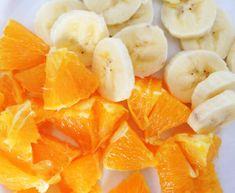 muz ve portakal maskesi