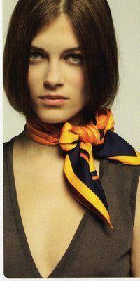 cute idea for scarf
