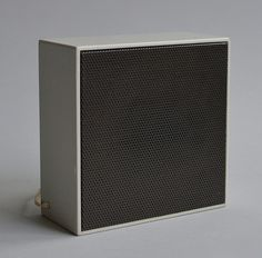 L 02 Additional Speaker, Designed by Dieter Rams, 1957