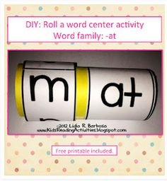 Great for Word Work Centers!