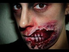 Halloween Make up 5: Zombie FX (special effects)  | Silvia Quiros - wow that's just regular make-up!