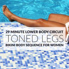 29 Minute Metabolism-Boosting Leg Circuit