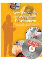 This may be a good resource for nurse educators in staff development positions.