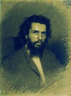 Portrait of Nikolay Andreyevich Koshelev,  - Ivan Kramskoy - WikiArt.org