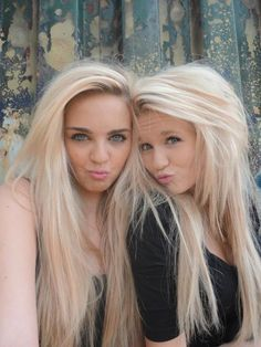 double blonde hair