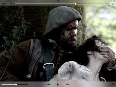 Murtagh silences Claire after rescuing her from BJR. Episode 101