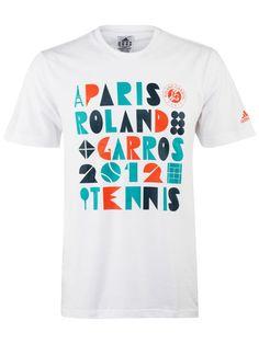 adidas Men's Roland Garros 2012 T-Shirt