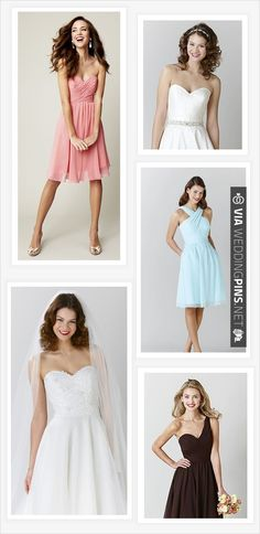 dresses from wedding shoppe | CHECK OUT MORE IDEAS AT WEDDINGPINS.NET | #bridesmaids