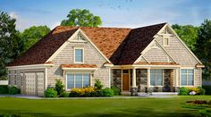 <ul><li>With its wonderful good looks and room for expansion, this Northwest house plan is a terrific option for your next home.</li><li>A vaulted foyer leads past a study that can be closed off with pocket doors. At the back of the home, a huge, open area awaits family and friends.From here you can prepare meals while still chatting with family members. The large walk-in pantry and walk-in coat closet off the garage entry give you lots of room for storage.</li><li>The delightful…