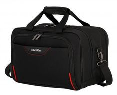 Bordtasche Travelite Sunny Bay 40cm Laptopfach schwarz - Bags & more Nylons, Sunnies, Gym Bag, Bags, Air Travel, Laptop Tote, Taschen, Black, Handbags