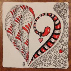 » Happy Hearts Day! dentangles