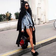 """581 mentions J'aime, 54 commentaires - ☾DAMY☽⠀Influencer (@gamine__de__paris) sur Instagram: """"_______________________________________________________ #parisianblogger #Streetchic #gaminedeparis"""""""