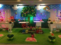 Decoração Para Festa Infatil Feitas Com Balões Decorativos