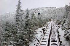 The Mount Washington Cog Railway, the first rack-and-pinion mountain-climbing ra. - The Mount Washington Cog Railway, the first rack-and-pinion mountain-climbing railway in the world. Train Route, By Train, Station To Station, Local Legends, Mount Washington, Mountain Climbing, Train Rides, Train Travel, New Hampshire
