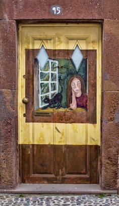 Painted Door ~ Funchal, Madeira, Portugal
