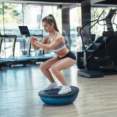Let this exercise tool work its toning magic.