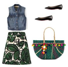 Urban 2 by carrotgirl9 on Polyvore featuring polyvore fashion style WithChic Christian Louboutin Pitusa clothing