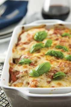 15 Five-Ingredient Casseroles to Make Once and Eat All Week via @PureWow